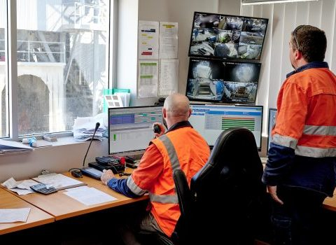 Entire Concrete Safety Fleet Control Centre