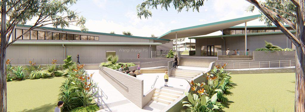Wangi Wangi School Upgrade